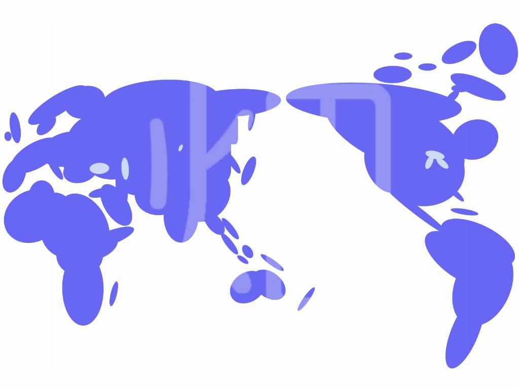 そざい畑,素材畑,世界地図