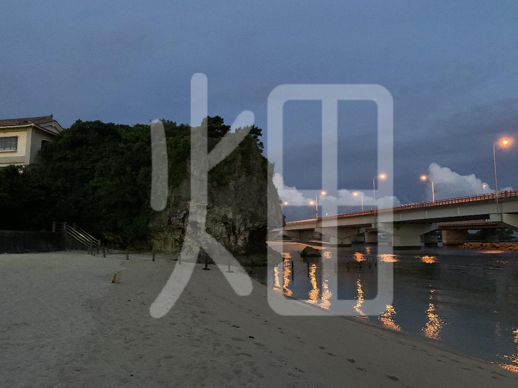 そざい畑,素材畑,沖縄の夜景