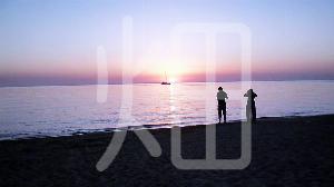 そざい畑,素材畑,地中海の夕日