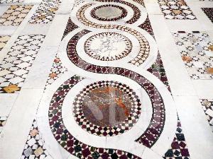 そざい畑,素材畑,絨毯デザインの石畳