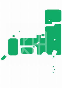 そざい畑,素材畑,日本地図(枠無)