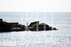 そざい畑,素材畑,城ケ崎海岸の釣り人